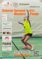 10./11.03.2018 German U11 Masters-Finalturnier in Mülheim an der Ruhr